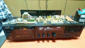 A&D GX-Z7000の修理(前編) メカのオーバーホール