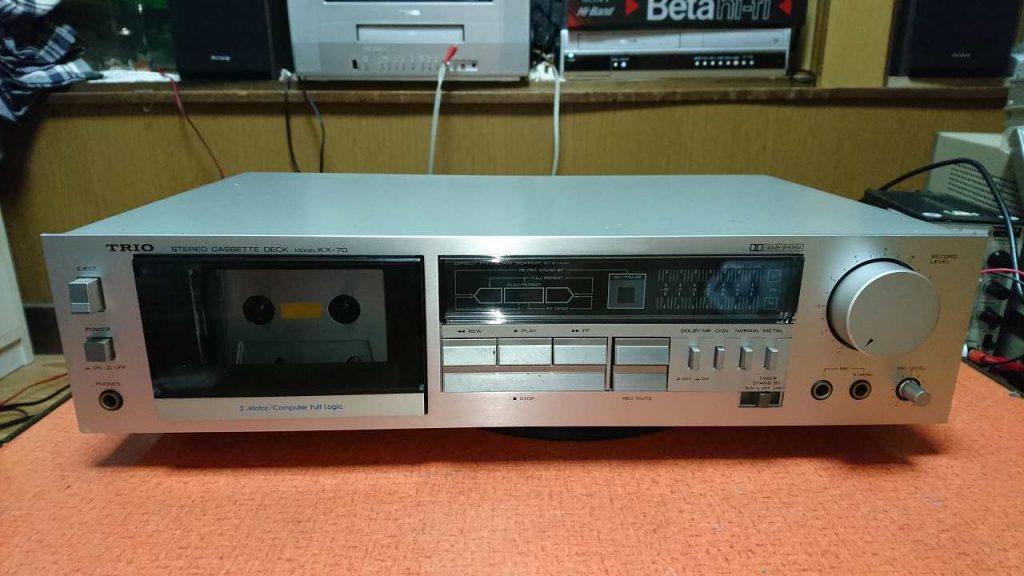 TRIO KX-70 の修理(メカオーバーホール)