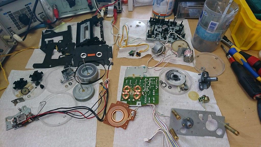 A&D GX-Z9100EV メカニズム全分解