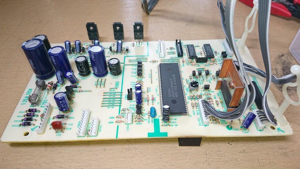 SONY TC-K222ESG システムコントロール基板