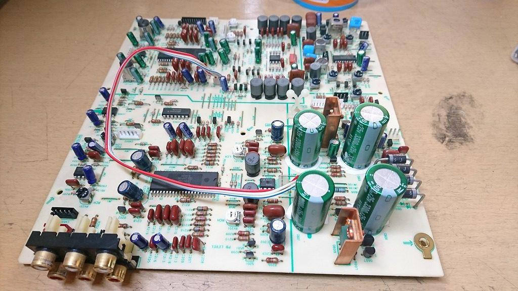 SONY TC-K222ESG アンプ基板