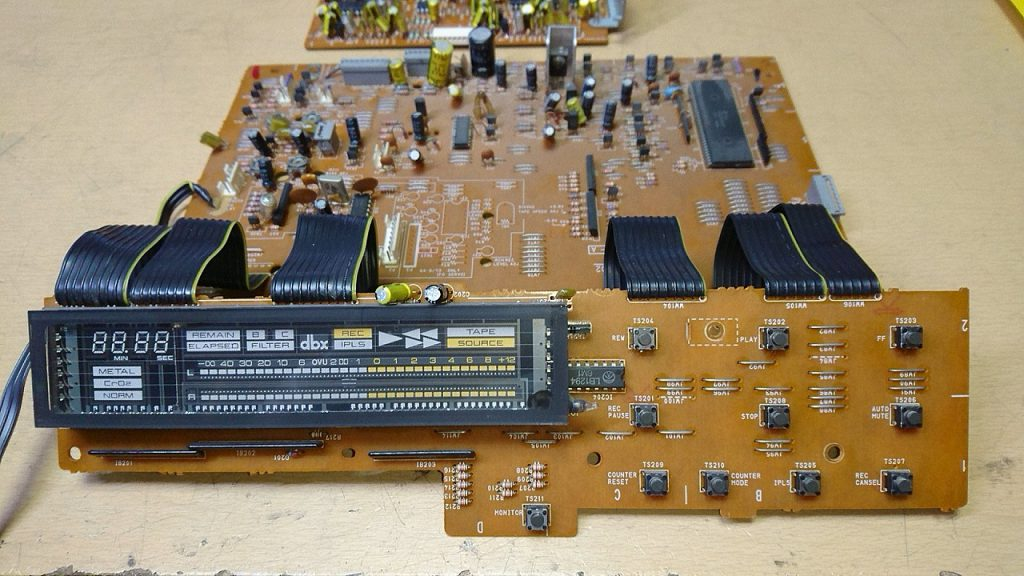 AKAI GX-93 制御系回路基板