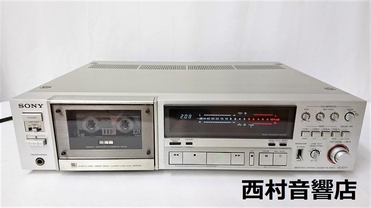 SONY TC-K777外観