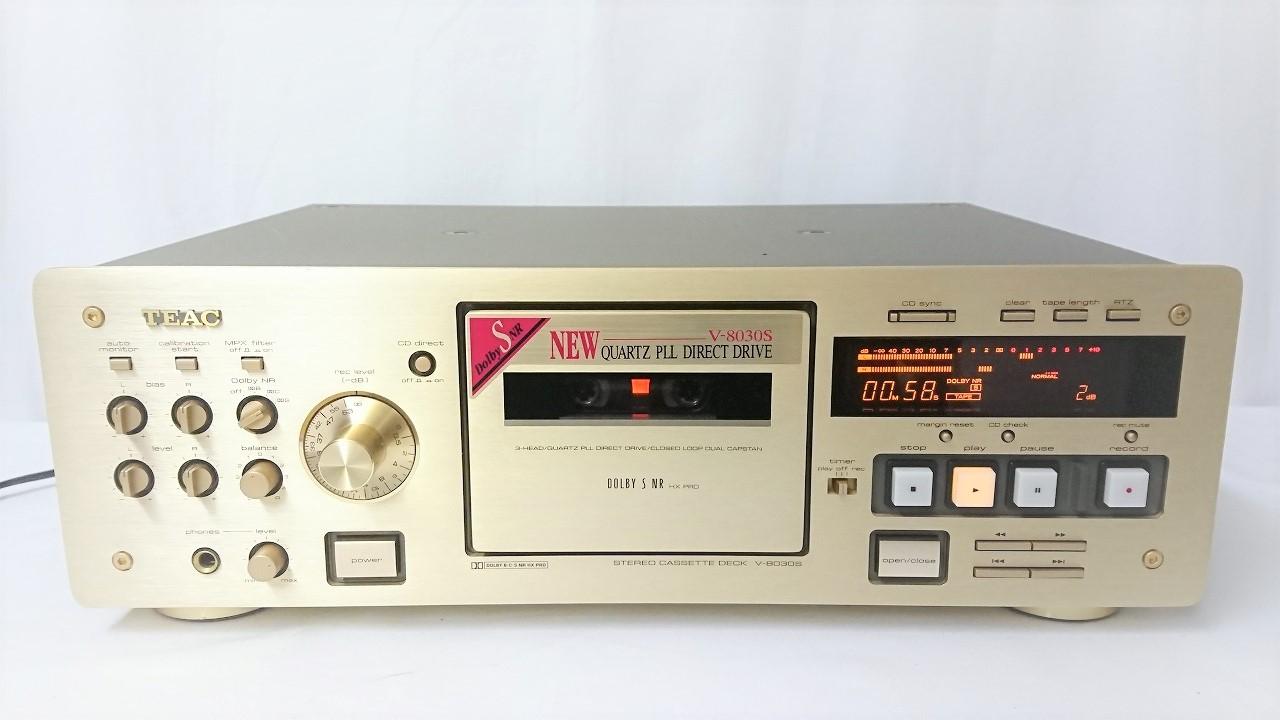 TEAC V-8030S外観
