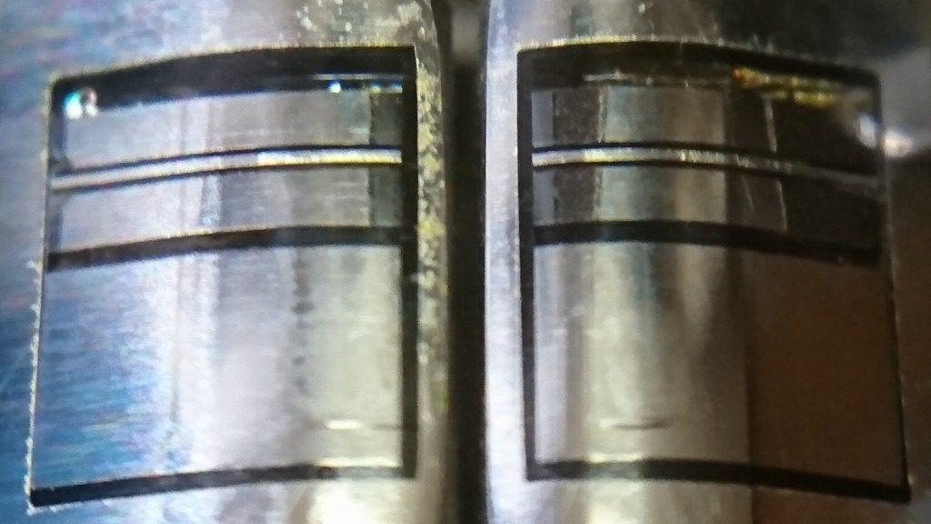 TC-K777のS&Fヘッドをスマホでマクロ撮影する