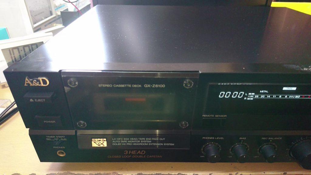 2台目のGX-Z6100を用意した。