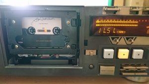 スーパーGXヘッドを搭載したV-6030Sでスーパーメタルマスターを再生する。
