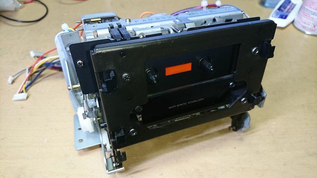 V-7000のメカニズム組立て完了。