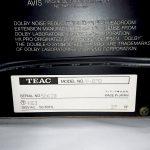 TEAC V-870 製造年と製造番号