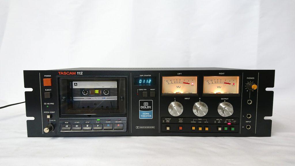 レンタルカセットデッキ TASCAM 112