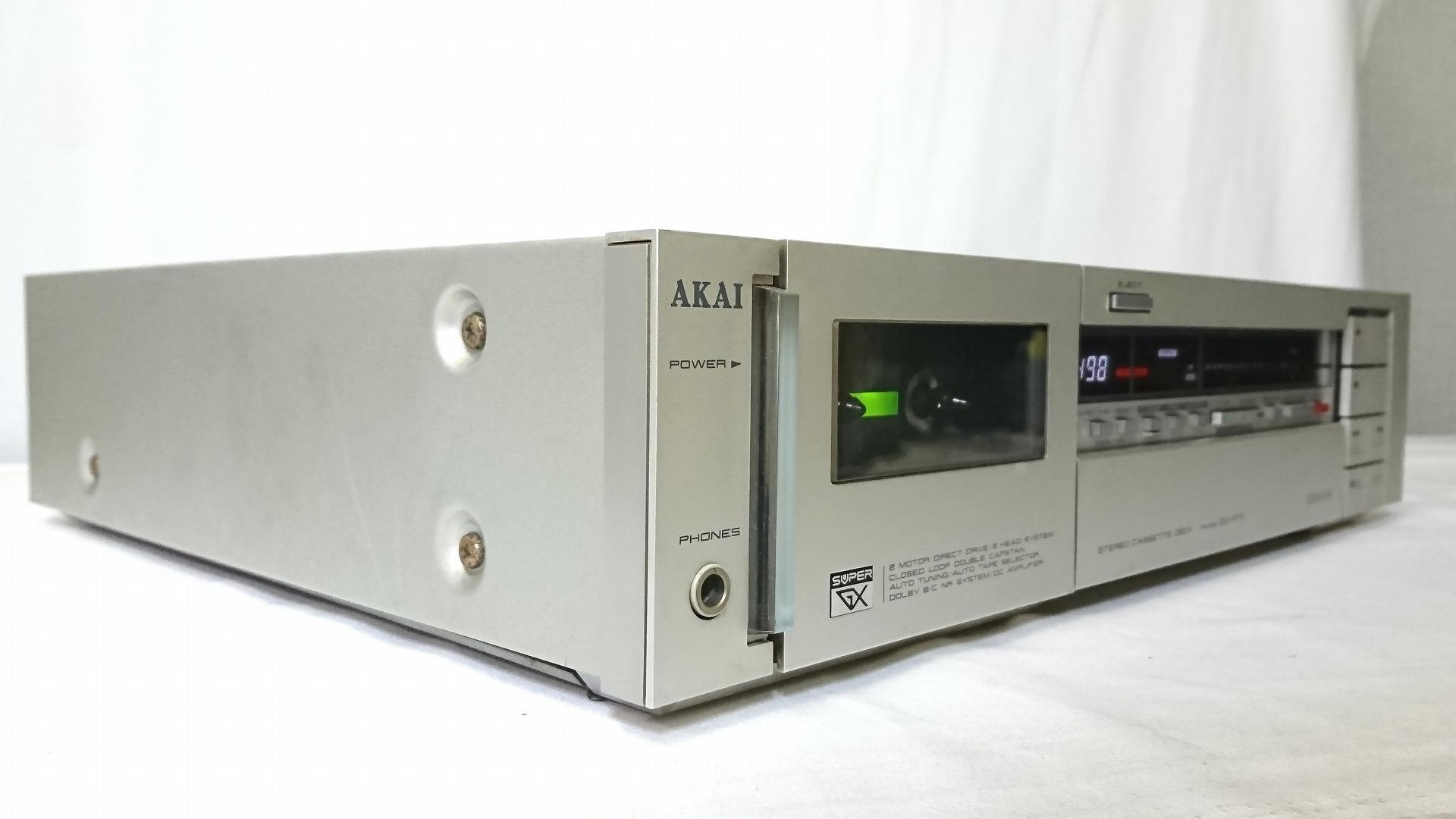 AKAI GX-F71 左斜め視点