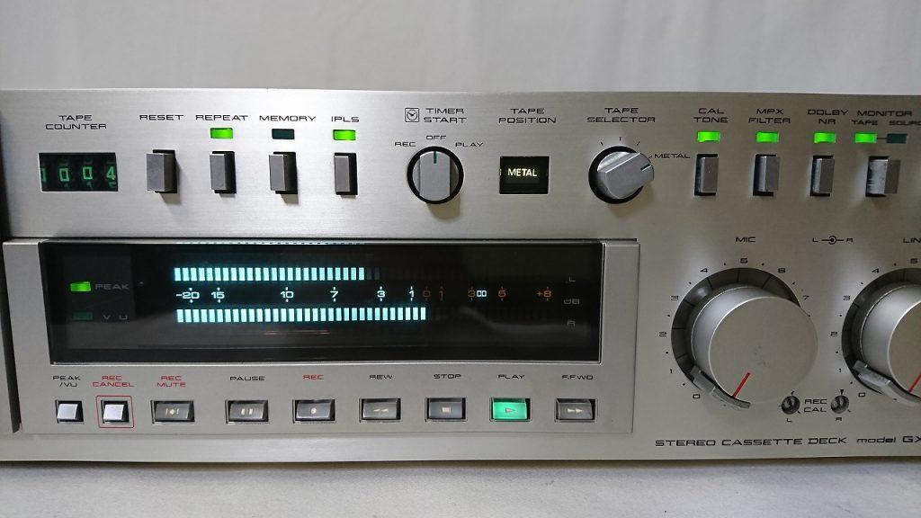 AKAI GX-F90 メーター