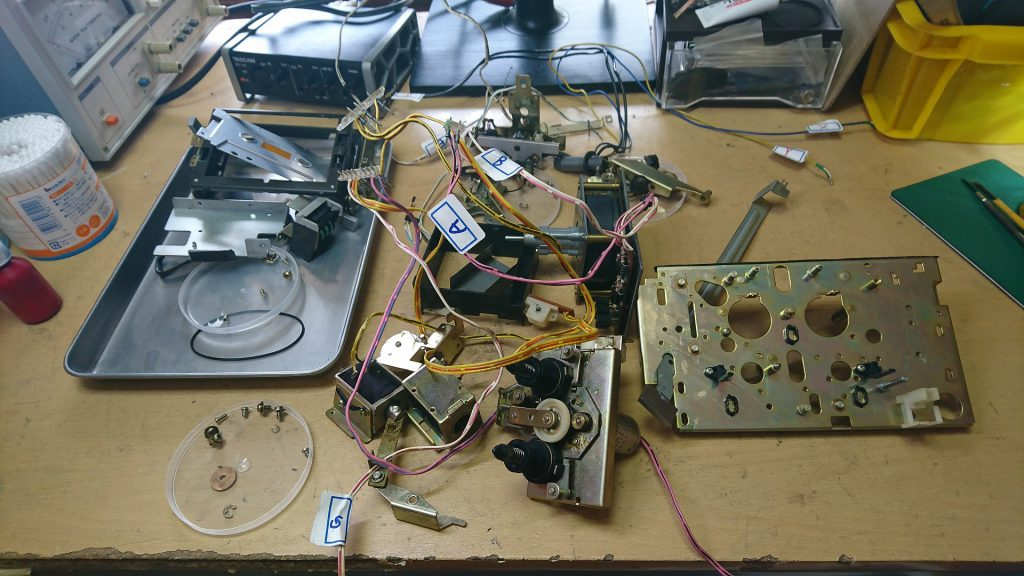AKAI GX-F90 メカニズム全分解