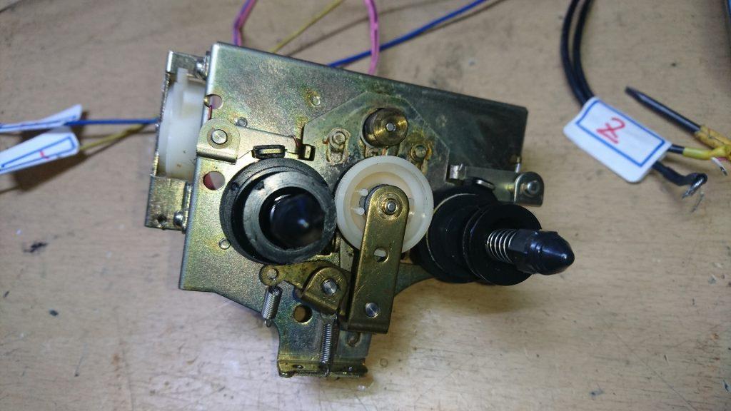 AKAI GX-F90 リール回転機構