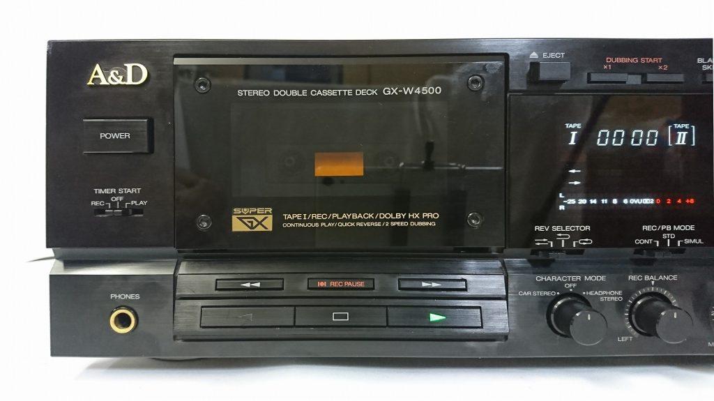 A&D GX-W4500 デッキ1側