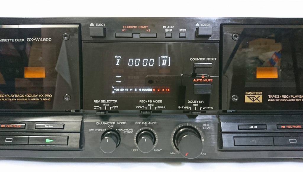 A&D GX-W4500 デッキ操作部