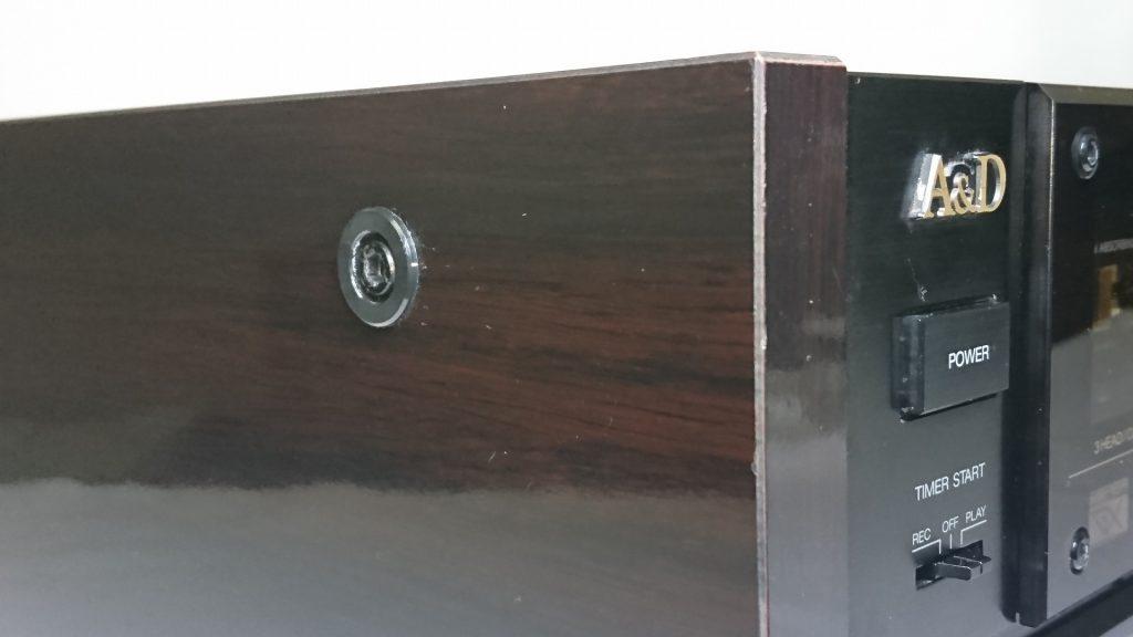 A&D GX-Z9100 サイドウッド