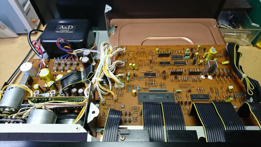 A&D GX-Z9100 上層階(電源回路・制御系回路)