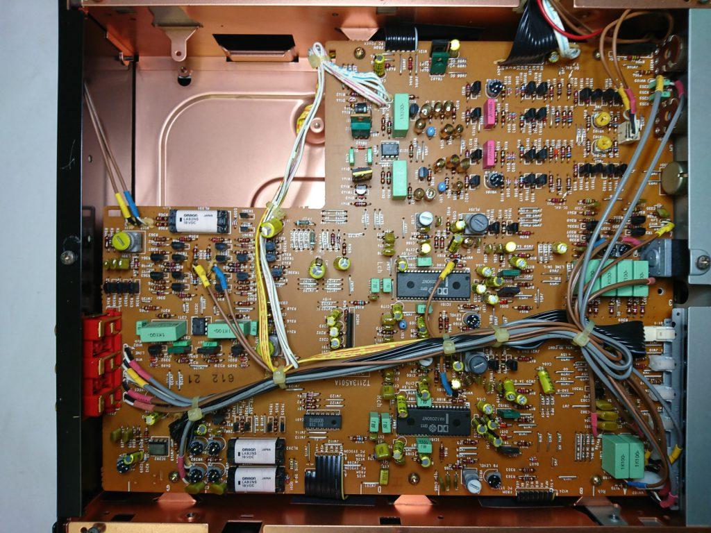 A&D GX-Z9100 下層階(アンプ)