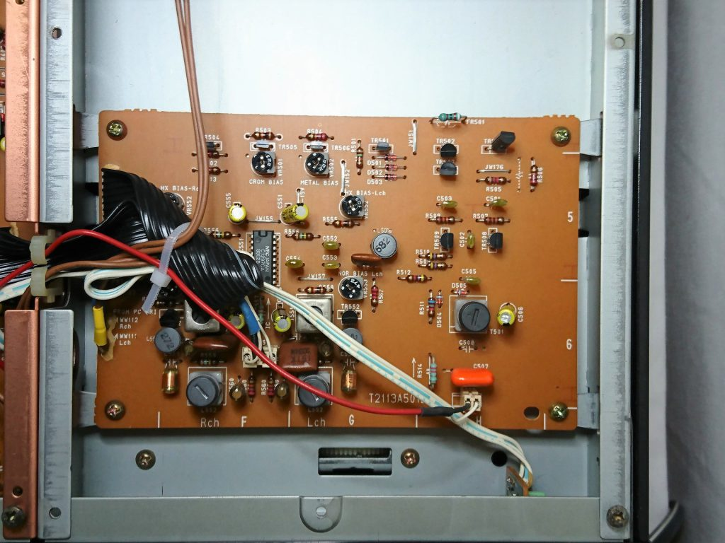 A&D GX-Z9100 下層階(バイアス発振回路)