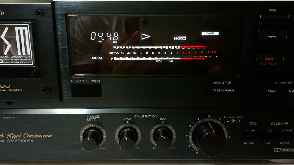 A&D GX-Z9100EV メーター