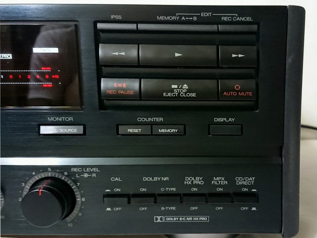 A&D GX-Z9100EV 操作ボタン