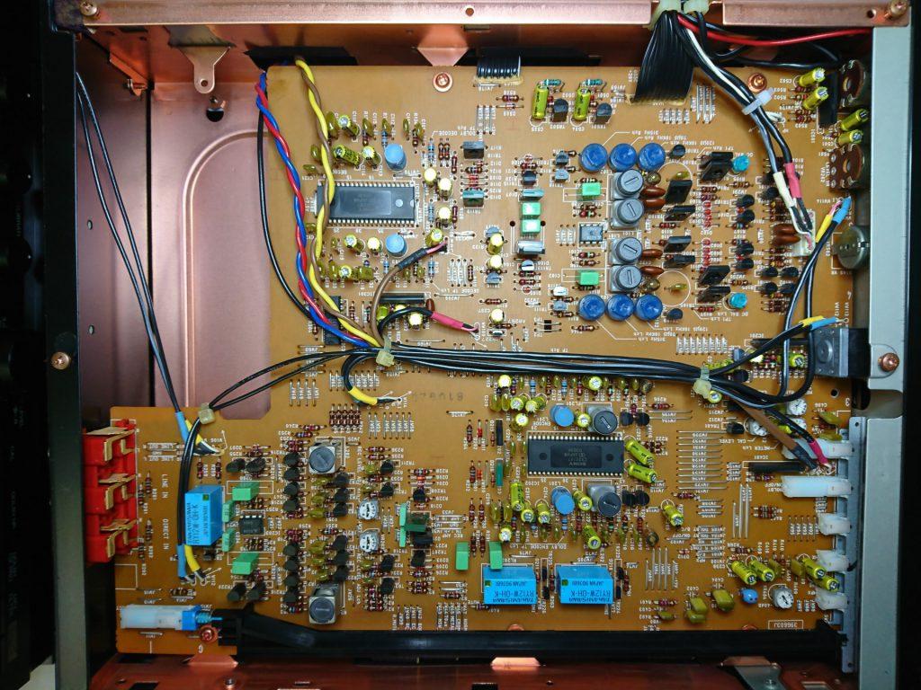 A&D GX-Z9100EV 下層階アンプ基板
