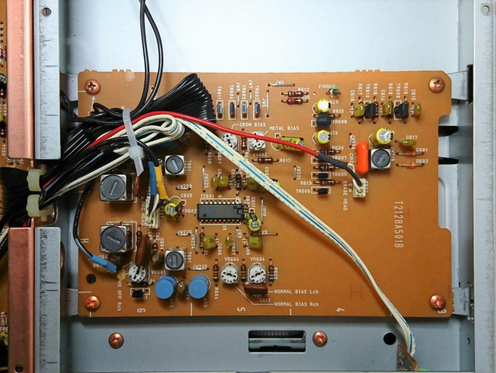 A&D GX-Z9100EV 下層階バイアス回路