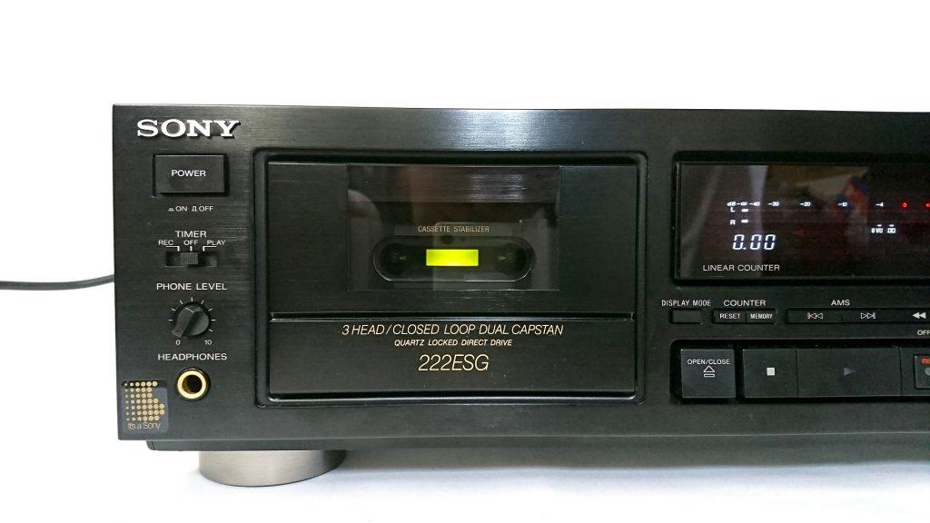 SONY TC-K222ESG カセットホルダ