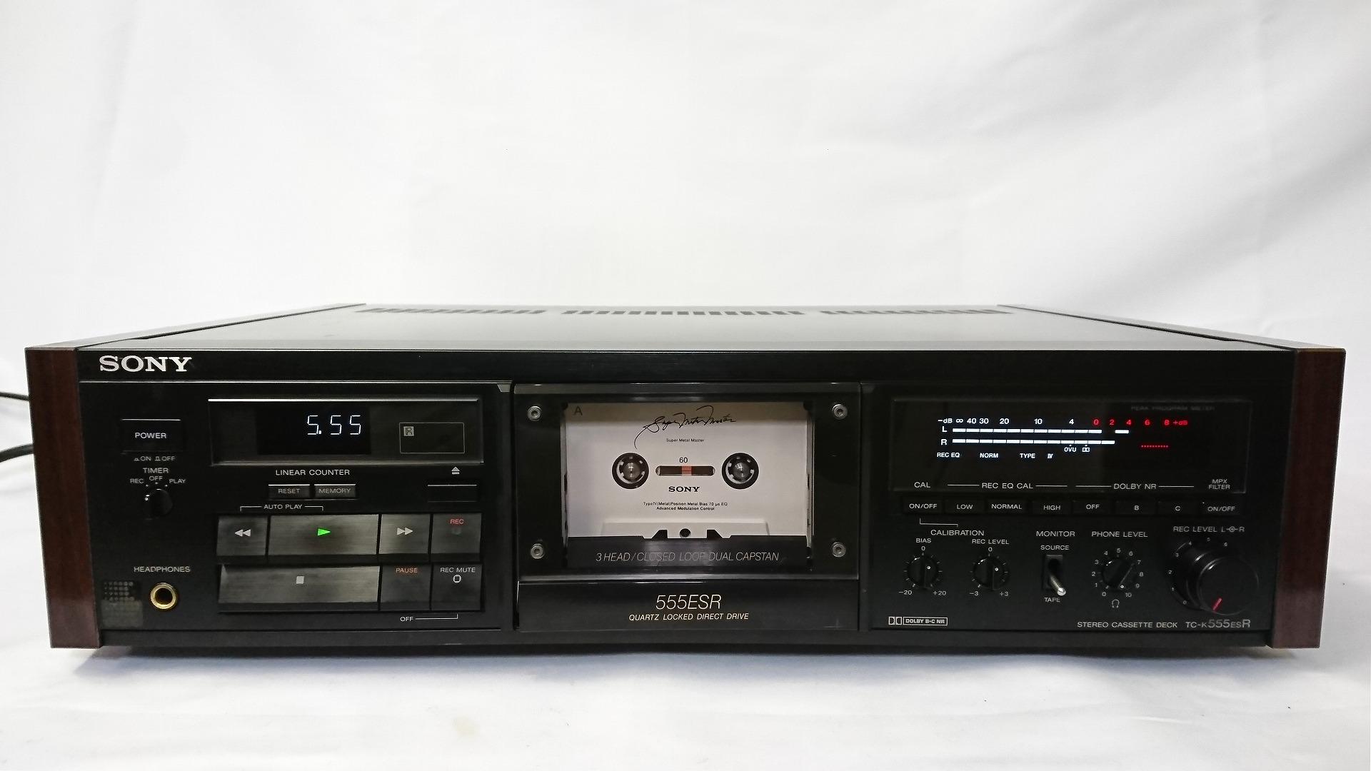 SONY TC-K555ESR