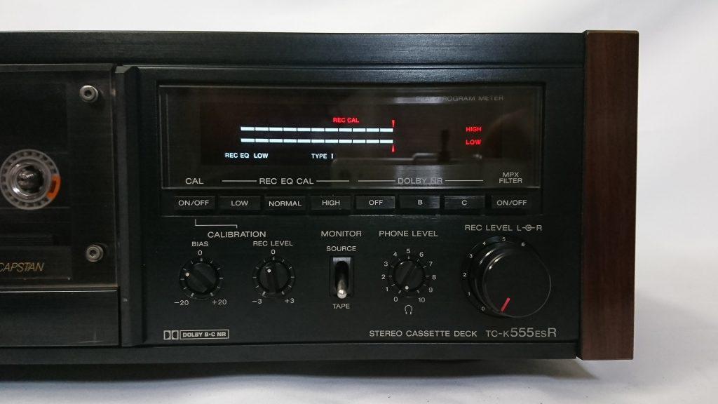 SONY TC-K555ESR キャリブレーションモード