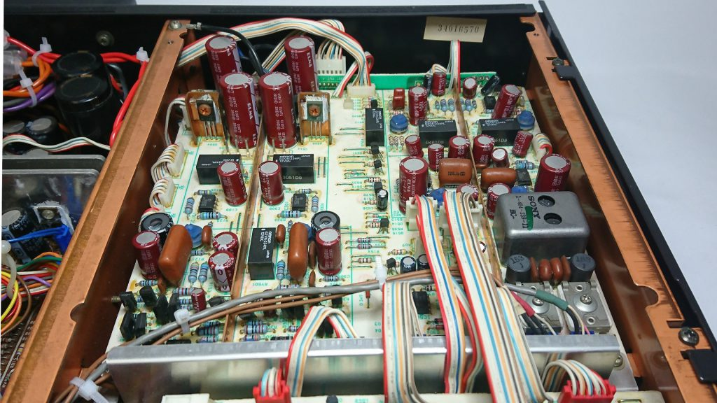 SONY TC-K777ES アンプ回路