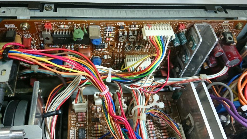 SONY TC-K777ES ブラシレスモーター関係の基板