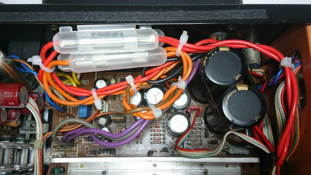 SONY TC-K777ES 電源回路