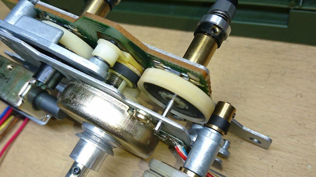 SONY TC-K777ES リール回転機構
