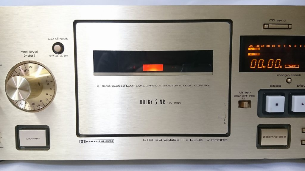 TEAC V-6030S カセットホルダー
