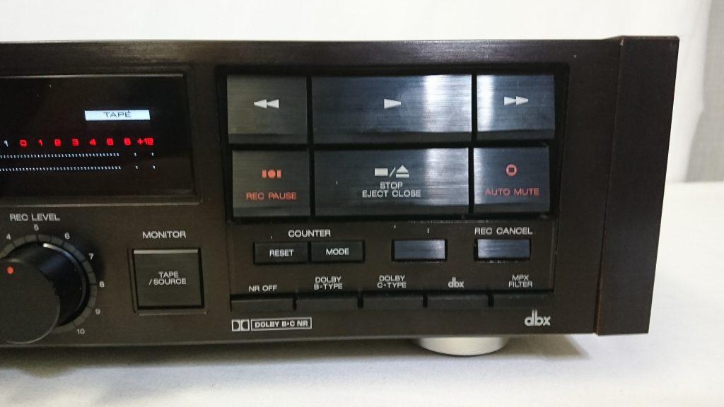 AKAI GX-93 操作ボタン