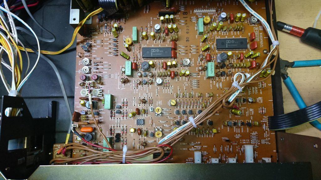 AKAI GX-93 アンプ基板